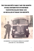 BC Dairy Historical Society - Peter van Reeuwyk - Northern Vancouver Island Milk Distribution 1953 to 1993